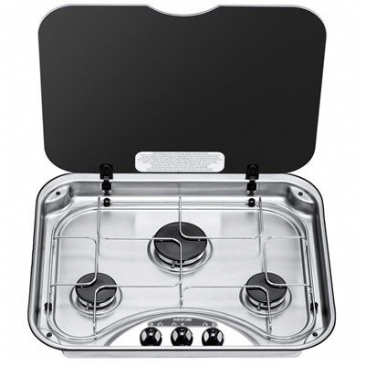 Spinflo 3 Burner Hob Series 340